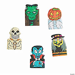 Halloween Character Puffy Finger Puppets