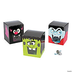 Halloween Character Treat Boxes