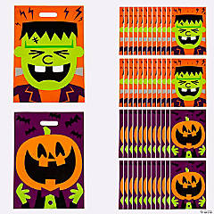 Halloween Character Trick-or-Treat Goody Bags