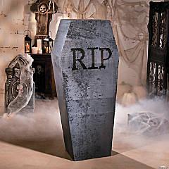 Halloween Coffin Cardboard Stand-Up