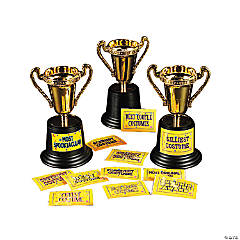 Halloween Costume Trophies
