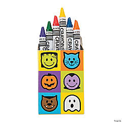 Halloween Crayons - 6 pc.