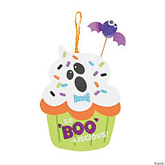 Halloween Cupcake Sign Craft Kit