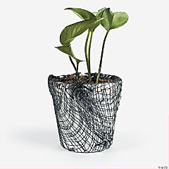 Halloween  Flower Pot Idea