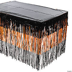 Halloween Fringe Tableskirt