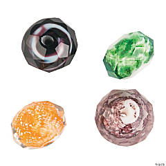 Halloween Glitter Beads - 12mm