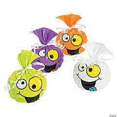 Halloween Goofy Faces Cellophane Bags