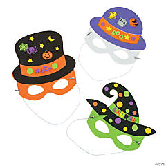 Halloween Hat & Mask Craft Kit