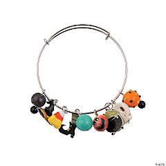 Halloween Inspiring Charm Chunky Bracelet Idea