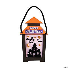 Halloween Lantern Sign Craft Kit