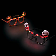 Halloween Light-Up Glasses