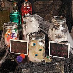 Halloween Mason Jars Idea