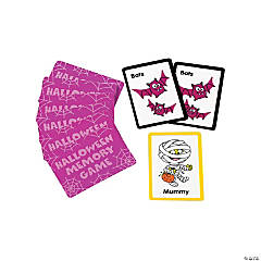 Halloween Memory Card Games