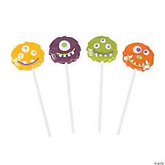 Halloween Monster Character Suckers
