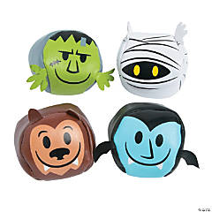 Halloween Monster Kick Balls