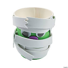 Halloween Mummy Treat Cups Craft Kit