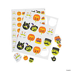 Halloween Mustache Self-Adhesive Shapes
