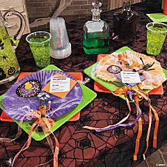 Halloween Paper Fans Idea