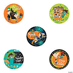 Halloween Phineas and Ferb Stickers