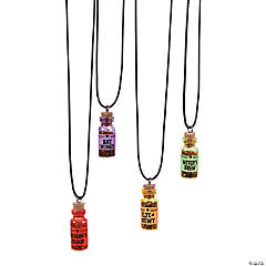 Halloween Potion Necklaces