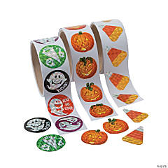 Halloween Prism Sticker Assortment