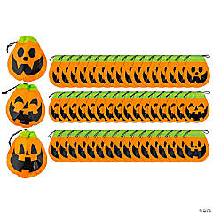 Halloween Pumpkin Goody Bags