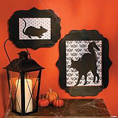 Halloween Silhouette Frames Idea