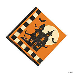 Halloween Silhouette Luncheon Napkins