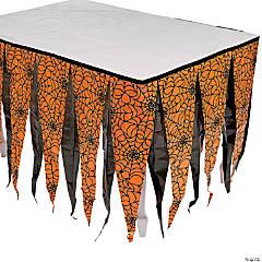 Halloween Silhouette Table Skirt