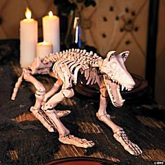 Halloween Skeleton Wolf