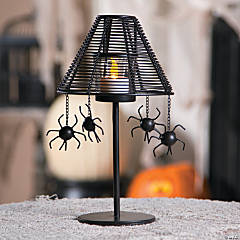 Halloween Spider Votive Holder Lamp