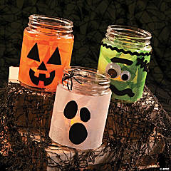 Halloween Tissue Lanterns