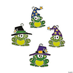 Halloween Toad Enamel Charms