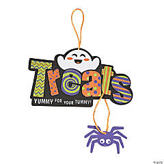 Halloween Treats Sign Craft Kit