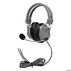 HamiltonBuhl SchoolMate Deluxe™ Headset with Gooseneck Microphone