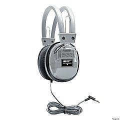 HamiltonBuhl SchoolMate™ Deluxe Stereo Headphone with 3.5mm Plug