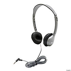 HamiltonBuhl SchoolMate Personal Stereo Headphone with Leatherette Cushions - no volume control