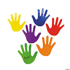 Hand Bulletin Board Cutouts