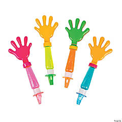 Hand Clapper Whistle Bubble Wands