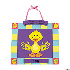Handprint Easter Chick Keepsake Craft Kit