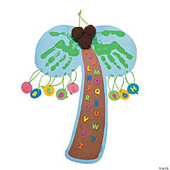 Handprint Letter Tree Craft Kit