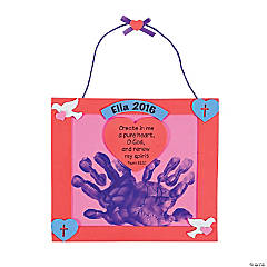 Handprint Psalm 51:10 Valentine Keepsake Craft Kit
