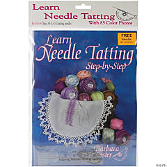Handy Hands Learn To Tat Step-By-Step Kit, Ncludes W/#7, #5-0, #3-0 Needles & Threader