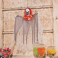 Hanging Creepy Clown