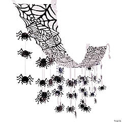 hanging spider ceiling decoration - Halloween Ceiling Decorations