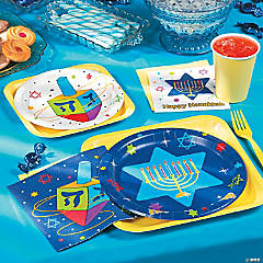 Hanukkah Festive Lights Party Supplies