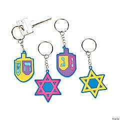 Hanukkah Keychains