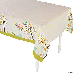 Happi Tree Plastic Tablecloth