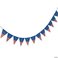 Happy 4th of July Burlap Garland