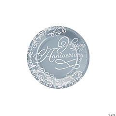 Happy Anniversary Dessert Plates